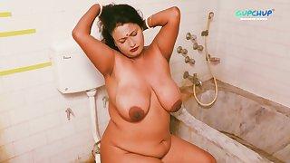 Indian Stepmom Nude In Bathroom
