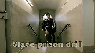 Dominatrix Mistress April - Slave Prison Drill - Cell 45