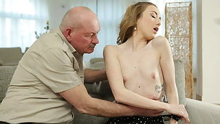 DADDY4K. Experienced man still able to fuck young girls