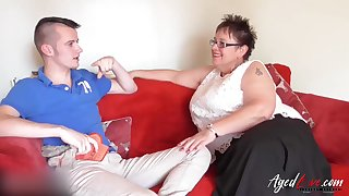 Older of age ladies from britain plus from spain up one sexy video