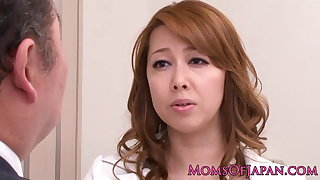 Mature lez Japanese business lady queens babe