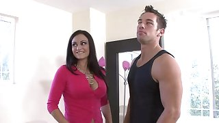 MILF Claudia Valentine gets brutally fucked by young gleam