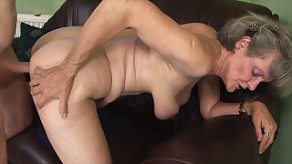 hairy 76 years old granny first stage big load of shit fucked