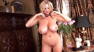 Kelly Madison enjoys making her stunning body horny
