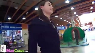 MallCuties Ladies cuckold their boysfriends for free shopping compilation