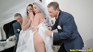 Bride to detest Skyla Novea gets a rough fuck before the wedding