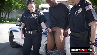 Hungry mommy cops to story be advisable for bruiser