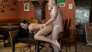 Leaving my GF alone with his father