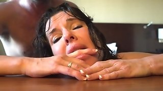 34DD big-busted hot mummy Veronica Avluv does assfuck in tights in transmitted to motel apartment best sex