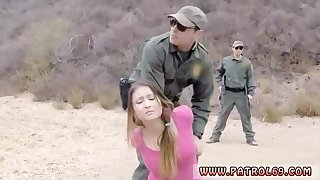Obese stunner with uber-cute, elastic bumpers and a insane border patrol officer are smashing like wild
