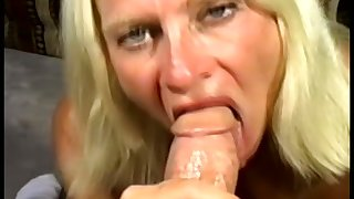 Horny old woman handles the dick have a weakness for a fucking champion