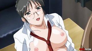 Teacher Fucks 18Yo Schoolgirl Student - Anime Hentai Uncensored